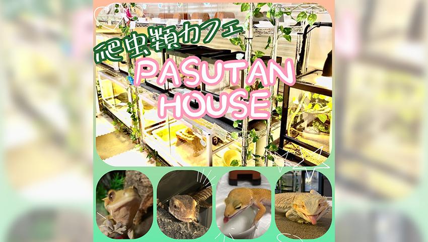 爬虫類カフェPASUTAN HOUSE